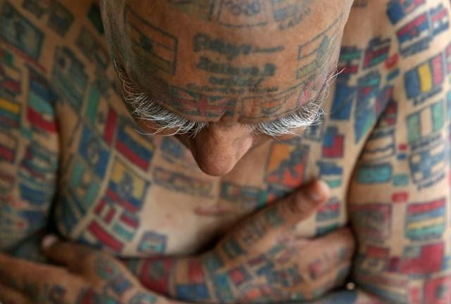 Guinness Rishi has 499 tattoos on his body.