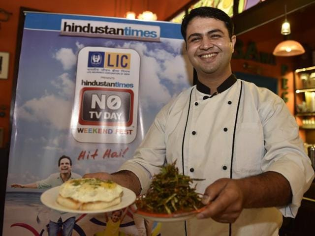 BKC restaurant SodaBottleOpenerWala's chefs Danesh Vaksoor and Akshata Karkaria demonstrate how to make four of their most popular dishes on Saturday.