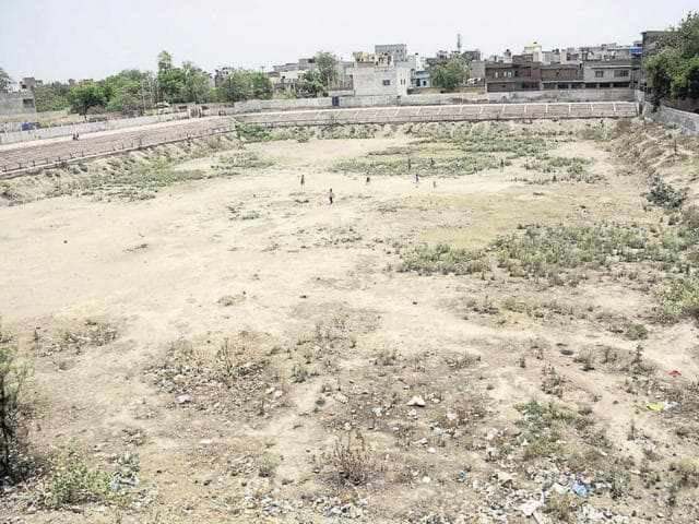 Environmentalists said that various water bodies were encroached upon by government agencies for infrastructure work.