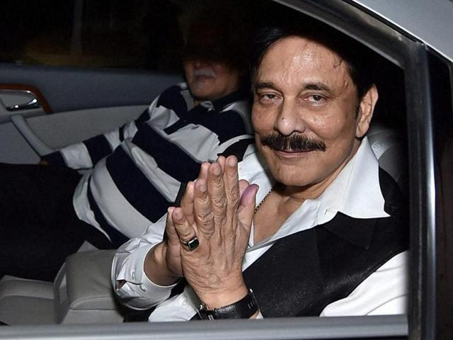 Roy was sent behind bars on March 4, 2014, after his company failed to comply with a court order to refund thousands of crores to investors in a bond programme that was ruled illegal.