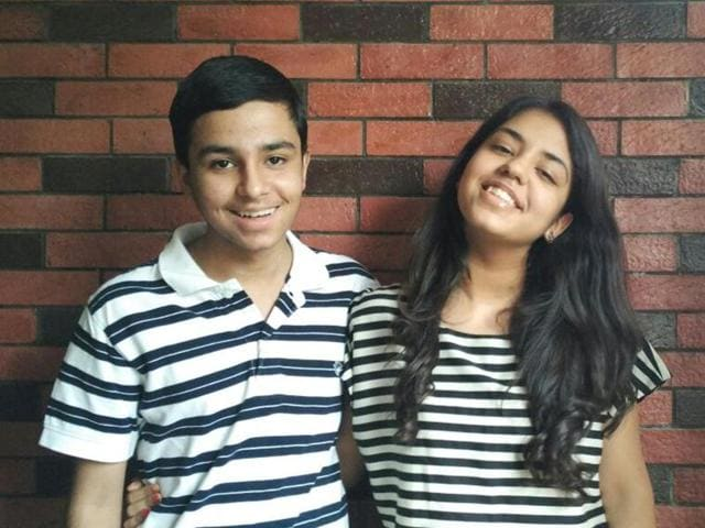 According to the parents of the brother-sister duo, the two have almost always scored same marks in examinations.