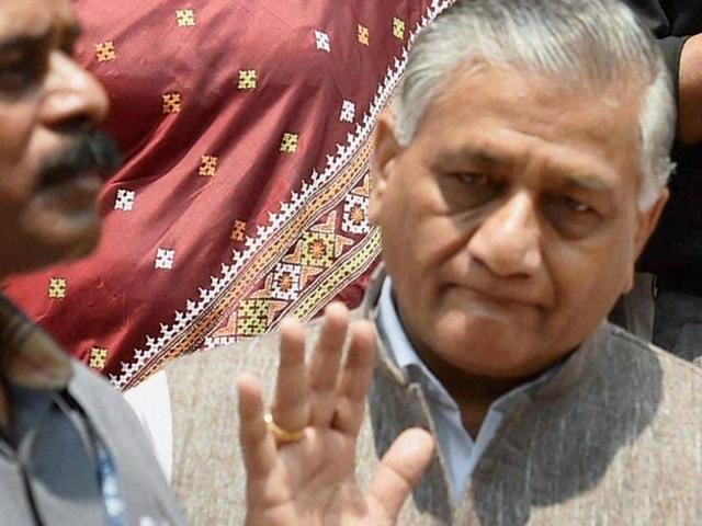 """Union minister VK Singh has claimed the attack on African nationals in the Capital was a """"minor scuffle"""" which was """"blown up"""" by the media."""