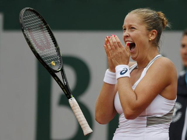 Rogers became just the ninth woman outside of the top 100 to make the last eight in Paris since 1983.