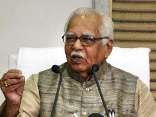 Uttar Pradesh governor Ram Naik