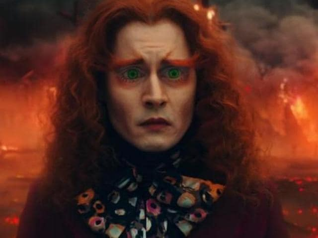 The Sad Hatter: Johnny Depp's box office troubles continue.