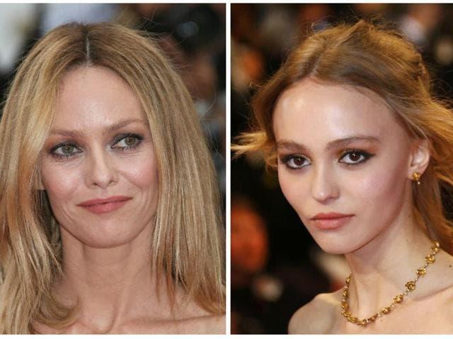 Johnny Depp,Lily Rose Depp,Johnny Depp Amber Heard