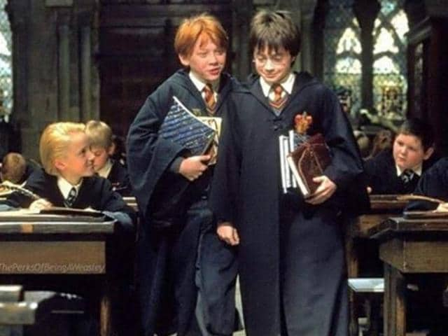 Harry Potter undergoes two magical biological transformations: eating Gillyweed to grow gills and drinking Skele-Gro to repair broken bones, which scientists say are not scientifically feasible in real life.