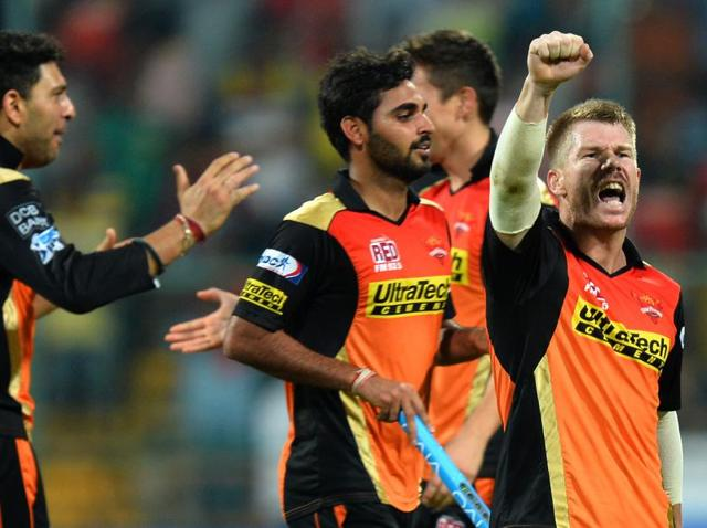 Warner was the leading run-getter for Sunrisers with 843 runs in the competition at an average of 60.57, including nine 50-plus innings.