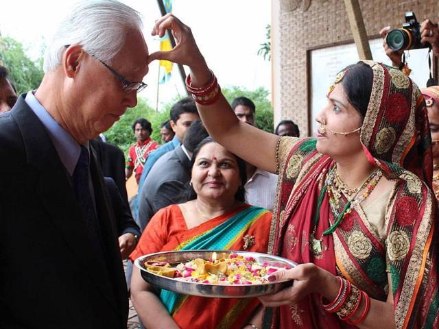 India is a beacon of hope and has the potential to drive the world economy for the next 10 years, former Singapore prime minister Goh Chok Tong said on Monday.