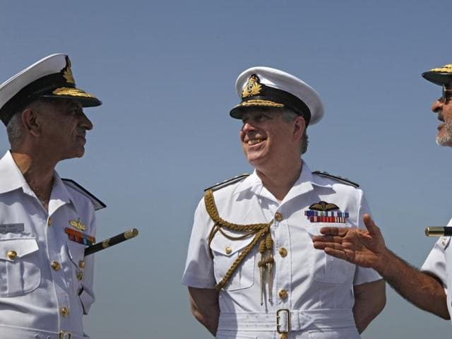 Western Naval Command,Sunil Lanba,Chief of Naval Staff