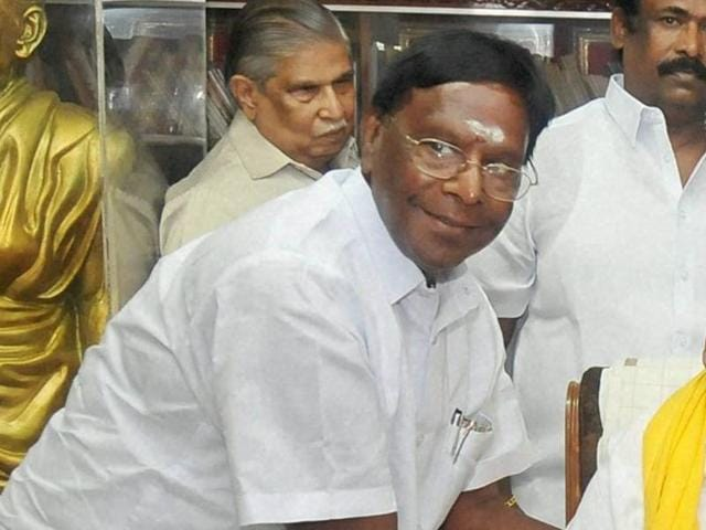 Congress,V Narayanasamy,Pududcherry CM