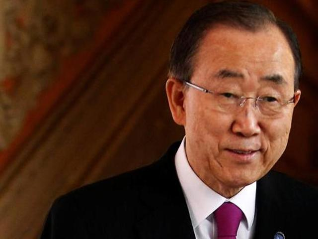 UN Secretary General Ban Ki-moon denied on Monday that his current South Korea visit was testing the waters for an eventual presidential bid, saying his comments on the subject had been exaggerated.