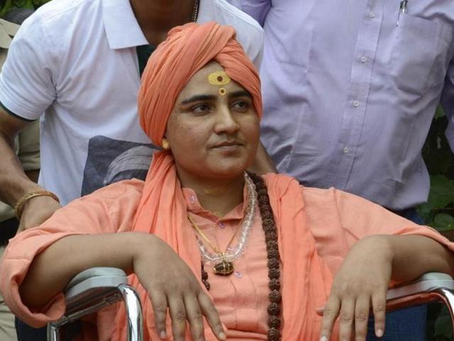 Hindu activist Sadhvi Pragya Singh Thakur  got a clean chit from the NIA in the 2008 Malegaon blasts case.