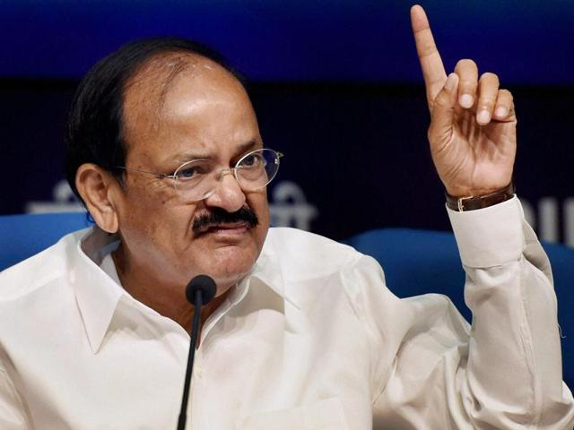 Union minister Venkaiah Naidu is one of the four BJP candidates who has filed their nomination papers from Rajasthan for Rajya Sabha elections.