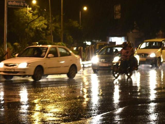 Delhi rains,Monday,dustorm