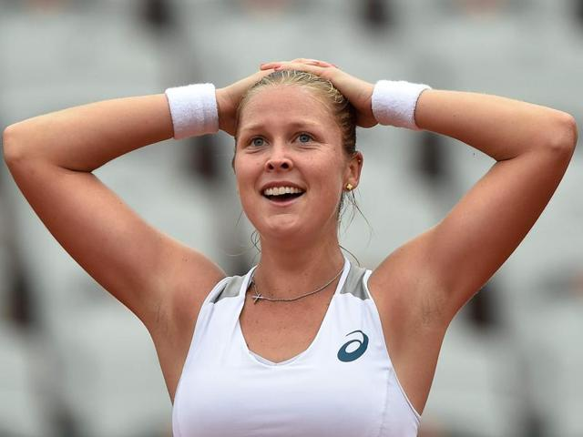 Rogers became just the ninth woman outside the top 100 to make the quarter-finals in Paris since 1983.