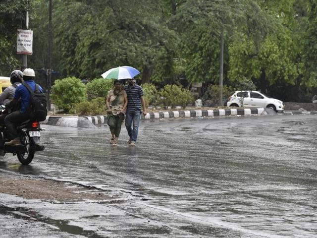 At least 12 people were killed across Uttar Pradesh due to storms, lightning and heavy rains, an official said on Monday.