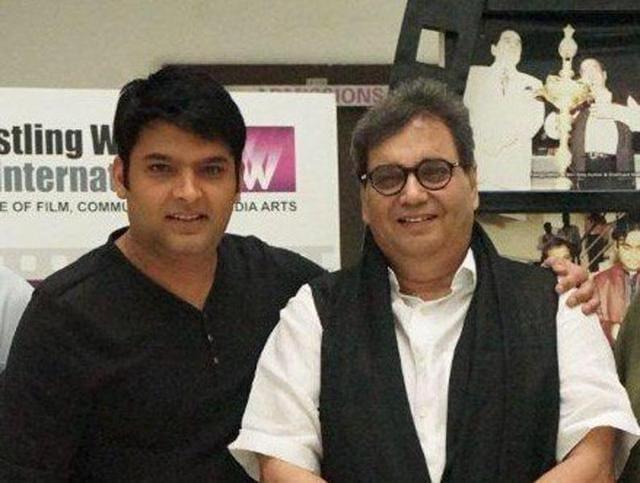 Kapil Sharma,Subhash Ghai,Tanmay Bhat