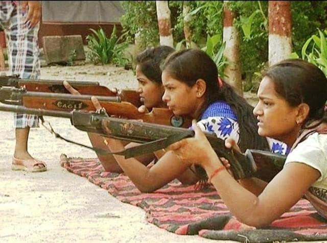 Durga Vahini,Arms training camp organised by VHP,Bajrang Dal