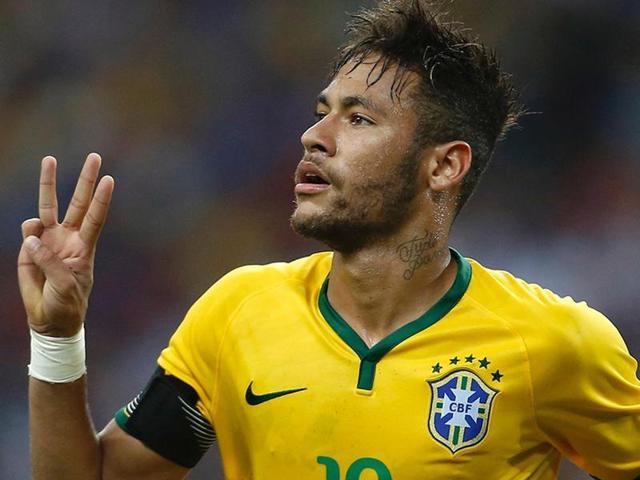 A file photo of Brazil footballer Neymar.