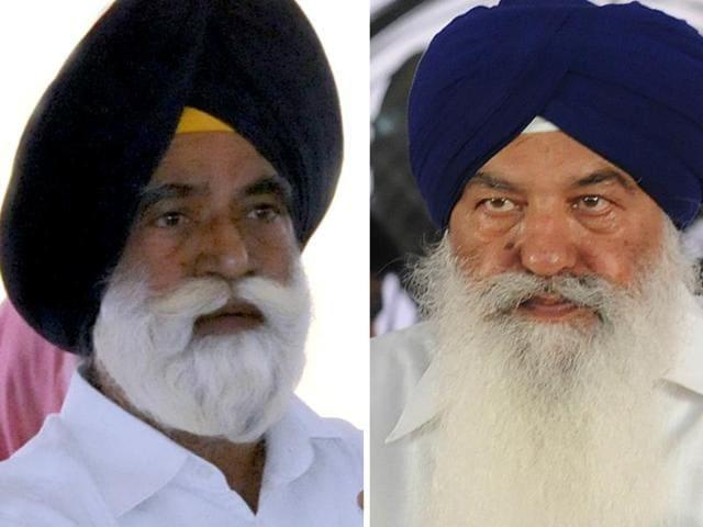 Sarvan Singh Phillaur (left) and Ajit Singh Kohar (right)