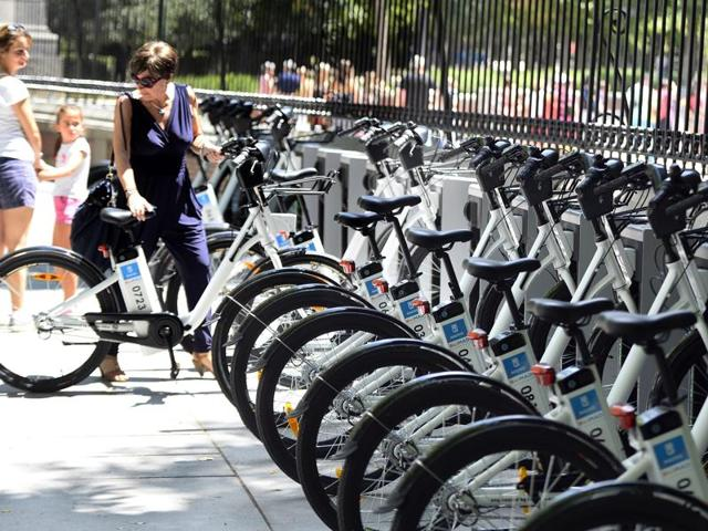 Whether you live in a city or are just visiting, bike sharing programs are a great way to get around and explore the area.