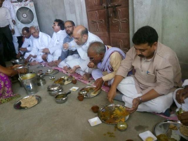 Amit Shah,Modi,Varanasi