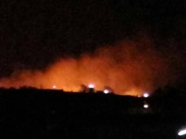 Multiple casualties in Indian army ammunition depot fire