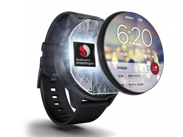 Qualcomm says the Snapdragon Wear 1100 system-on-chip is designed for kids' watches or watches for elderly, fitness tracker, and smart headsets.