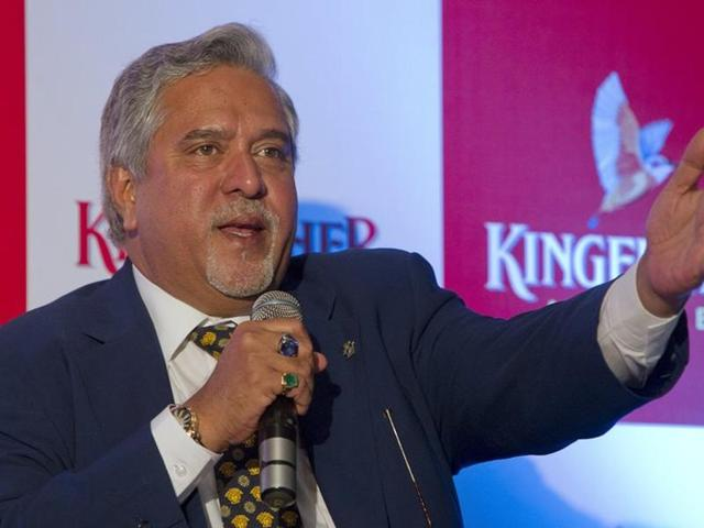 In this file photo, Vijay Mallya speaks to the media at a news conference in Mumbai.
