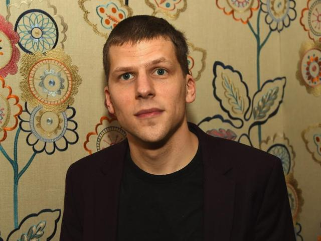 Cast member Jesse Eisenberg attends a news conference for the film Cafe Society out of competition before the opening of the 69th Cannes Film Festival in Cannes.