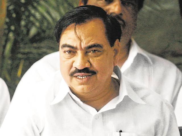Eknath Khadse,BJP,MIDC
