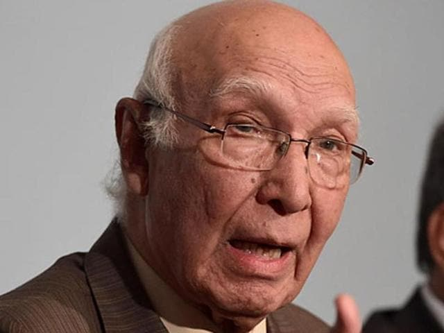Sartaj Aziz, Pakistan's Advisor on Foreign Affairs, said at a press conference earlier on Thursday that Pakistan did not see Iran's Chabahar port as a rival and that Pakistan was in fact exploring the possibility of developing links with Gwadar.