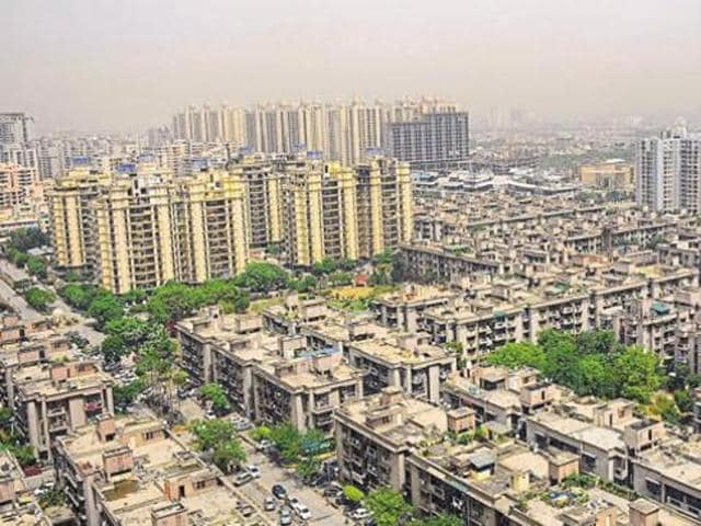 A minimal or no hike in circle rates expected in Ghaziabad  due to the slump in the real estate market .