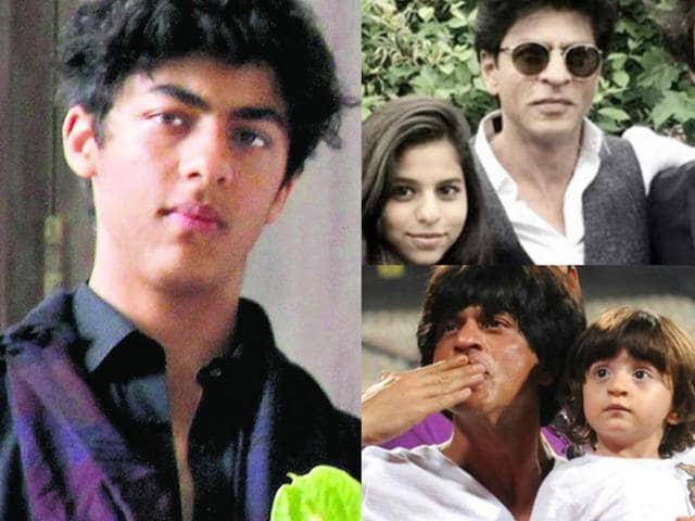 From taking AbRam to IPL matches to playing host to his daughter Suhaana's friends, Shah Rukh Khan's love for his children is not hidden from his fans.