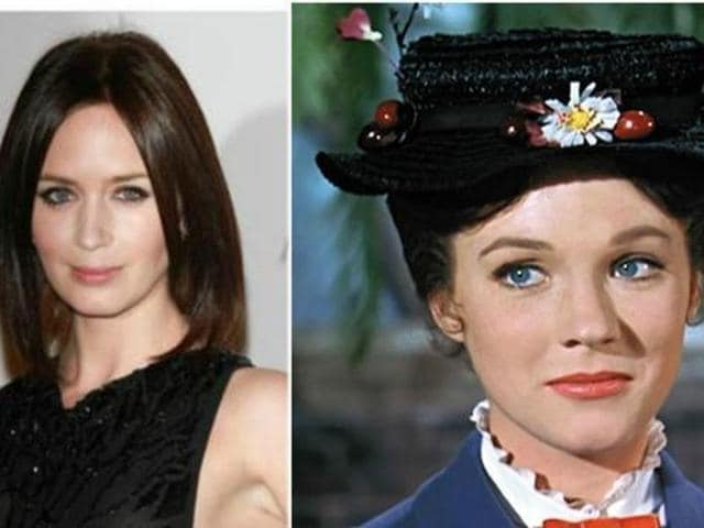 Mary Poppins,Emily Blunt,Emily Blunt Mary Poppins
