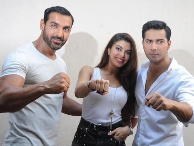 Dishoom is directed by Rohit Dhawan. (HT Photo)