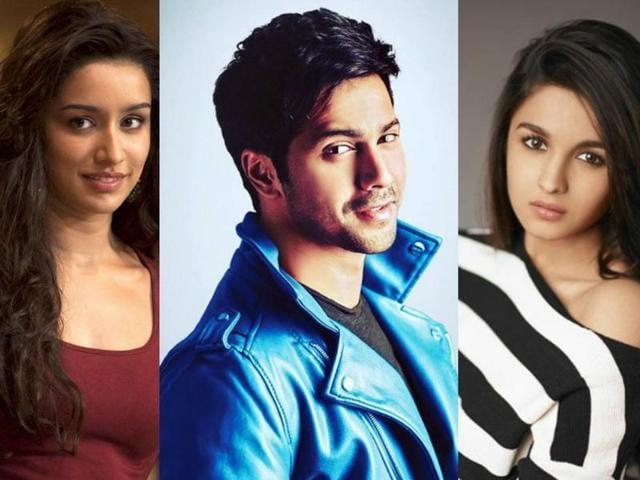 Reports claim that Varun Dhawan will romance both Alia Bhatt and Shraddha Kapoor in Judwaa 2.