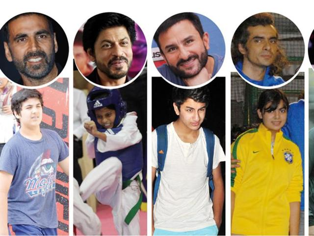 Kids of Bollywood A-listers love to indulge in sports off -screen.