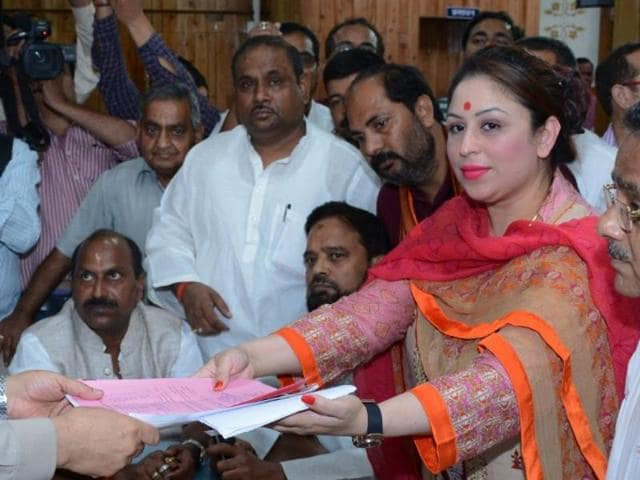 Few had heard of Preeti Mahapatra, 37, who submitted her papers on the last day of filing nominations on Tuesday, taking both political circles and social media by storm.