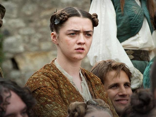 Maisie Williams,Game of Thrones,Arya Stark