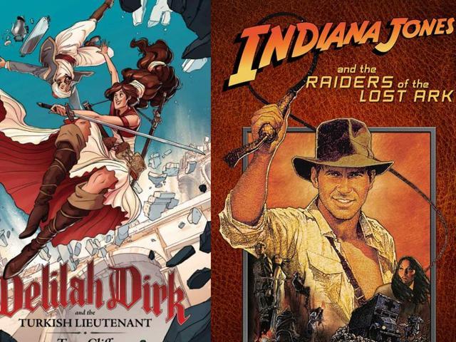 Indiana Jones,Delilah Dirke,Delilah Dirke Comic