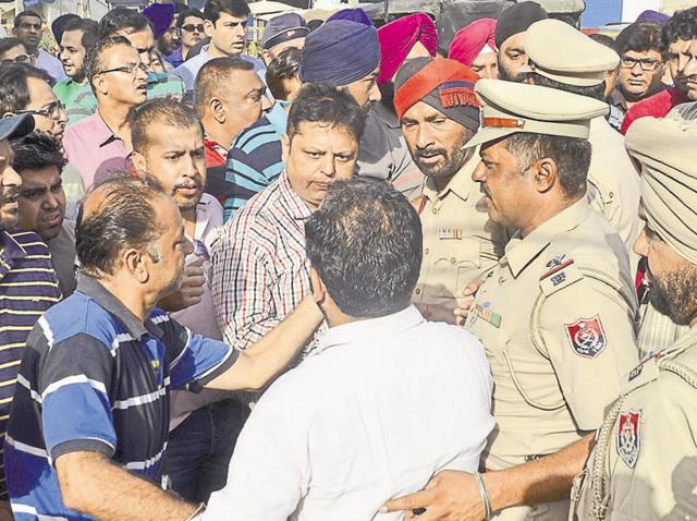 parents booked,50 parents booked,Amritsar protest