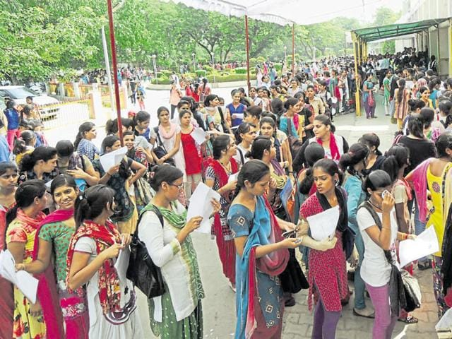 Gurgaon has five government colleges and several private universities but student are seeking admission elsewhere saying the standards and credibility of there institutions are low.