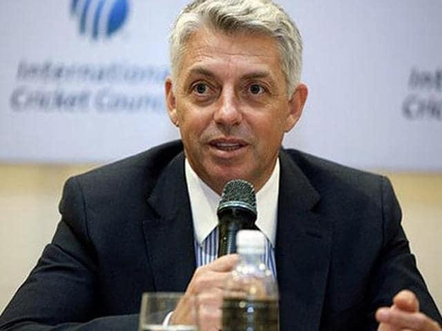 Afile photo of ICCchief executive David Richardson.