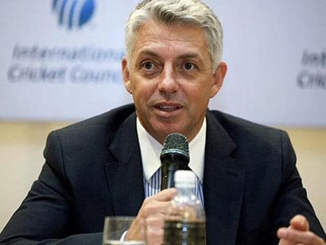Dave Richardson,ICC,Test Cricket