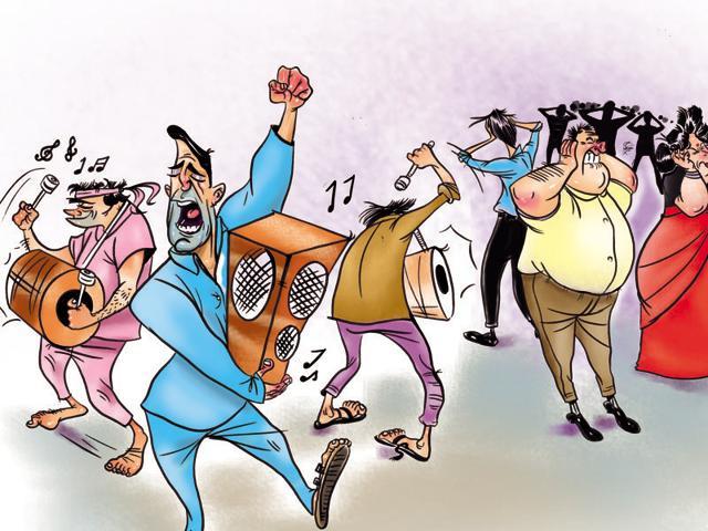 Noise pollution,Mumbai cops