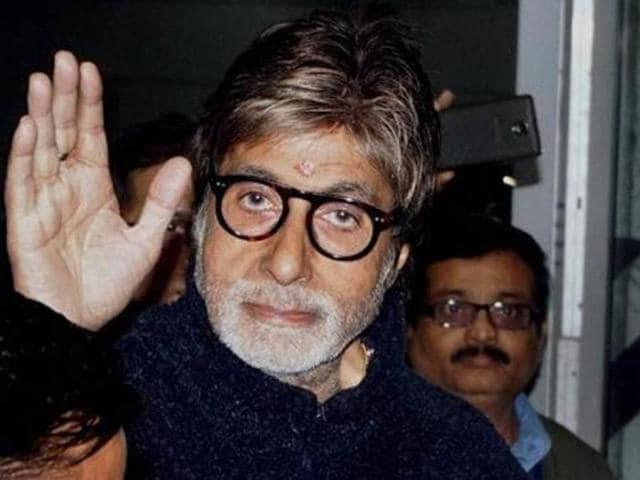 Amitabh Bachchan will soon be seen in T3EN. (HTPhoto)