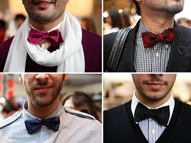 Fashion designer Narendra Kumar, creative director at Amazon Fashion, India, is here to help with the innovative and trendy tie bow tie that is perfect for every occasion.(Pinterest)