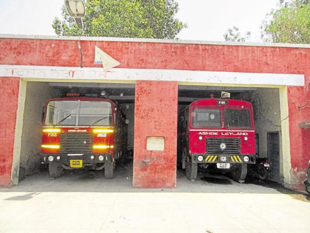The Abohar fire department has only two fire tenders.